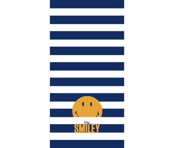 Smiley World Beach towel Hey - 75 x 150 cm