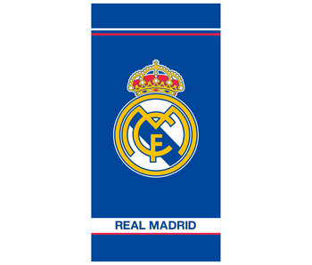 Real Madrid Serviette de plage Logo - 75 x 150 cm