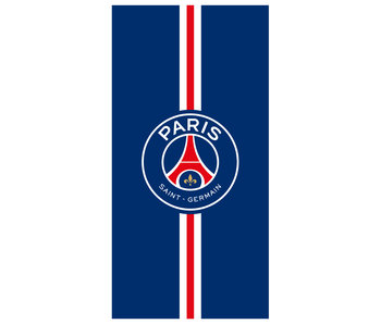 Paris Saint Germain Beach towel Stripe - 75 x 150 cm