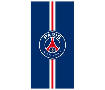 Paris Saint Germain Strandtuch Streifen - 75 x 150 cm