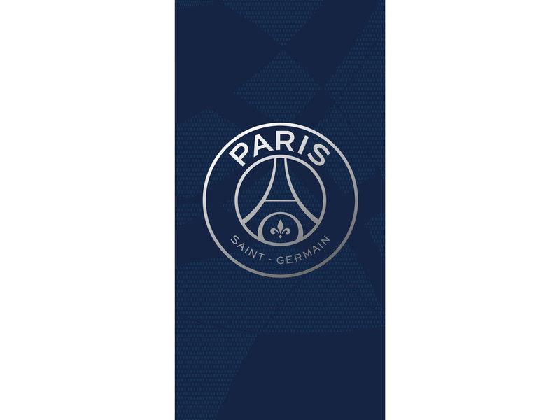 Paris Saint Germain Strandlaken Dream Bigger - 85 x 160 cm - Blauw