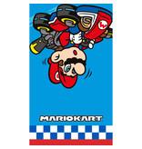 Mario Kart Beach towel Winner - 70 x 120 cm - Blue