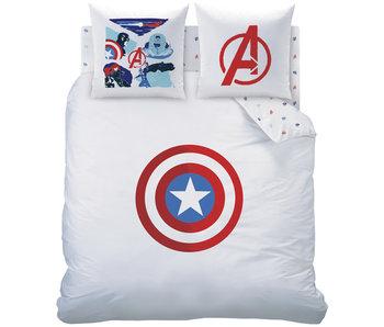 Marvel Avengers Bettbezug Schild 240 x 220 cm