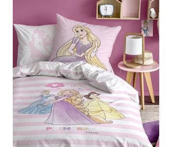 Disney Princess Duvet cover Stripes 140 x 200 cm