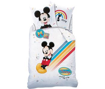 Disney Mickey Mouse Housse de couette Coloré 140 x 200 cm