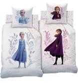 Disney Frozen Housse de couette Fleurs - Unique 140 x 200 cm - Multi