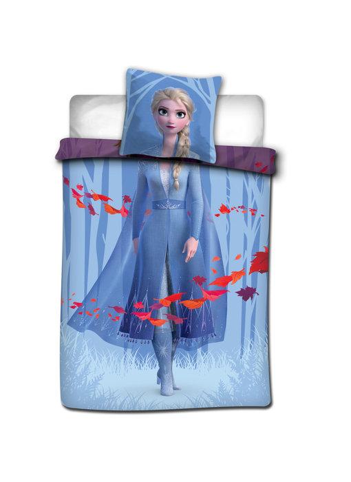 Disney Frozen Anna Elsa Leaves duvet cover 140 x 200 cm