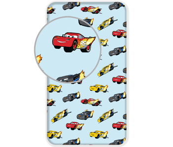 Disney Cars Drap housse Madness coton 90x200cm