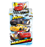 Disney Cars - Duvet cover - Single - 140 x 200 cm - Multi