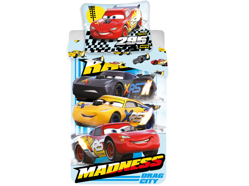 Disney Cars - Bettbezug - Einzel - 140 x 200 cm - Multi