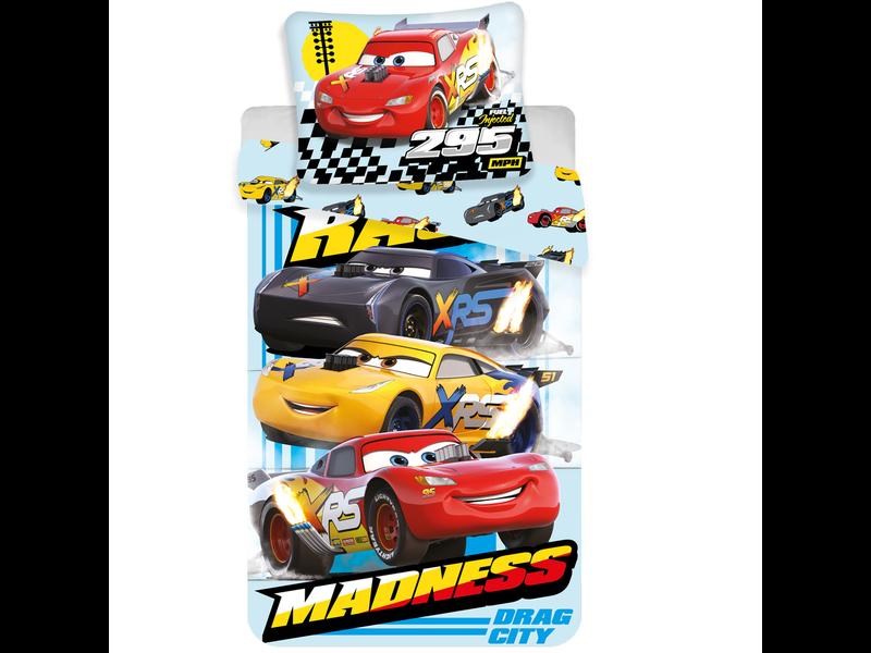 Disney Cars - Dekbedovertrek - Eenpersoons - 140 x 200 cm - Multi