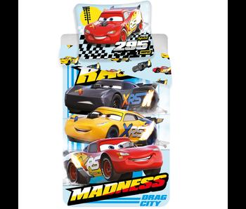 Disney Cars Bettbezug Madness Baumwolle 140x200cm + 60x80cm