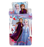 Disney Frozen Olaf - Bettbezug - Einzel - 140 x 200 cm - Mehrfach