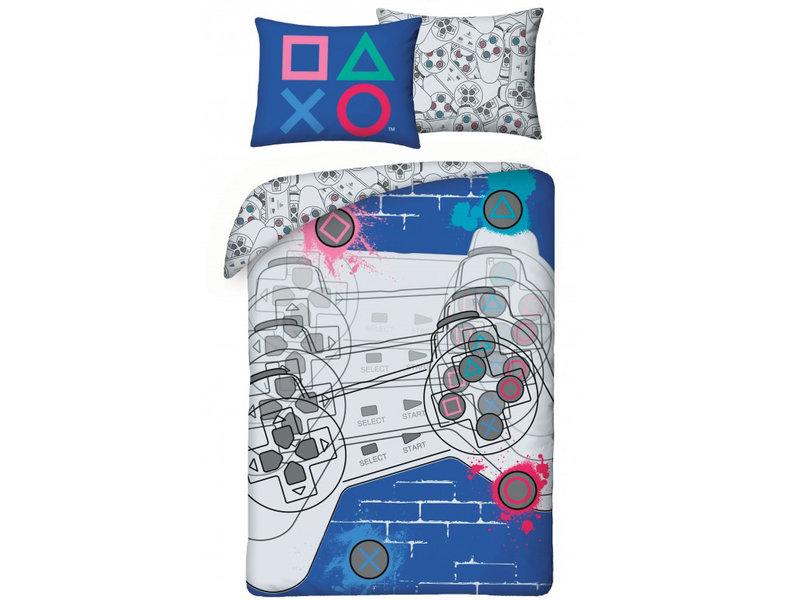 Playstation Dekbedovertrek - Eenpersoons - 140 x 200 cm - Multi
