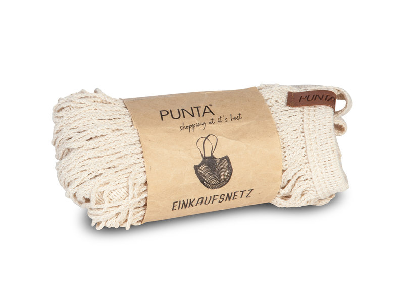 Punta - Einkaufstasche - 32 x 38 cm - Beige