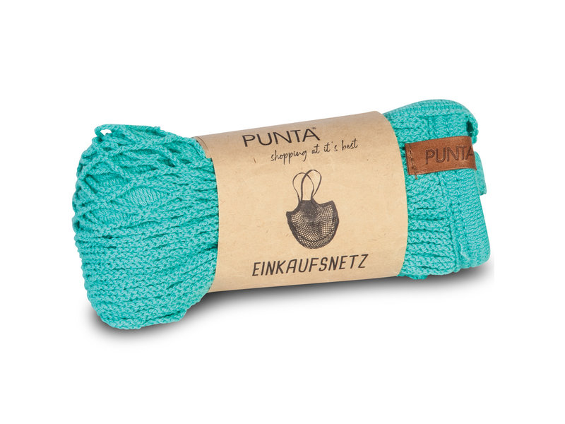 Punta - Shopping Bag - 32 x 38 cm - Aqua Green