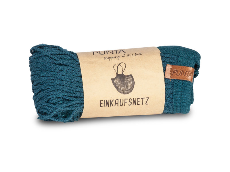 Punta - Sac à provisions - 32 x 38 cm - Bleu marine