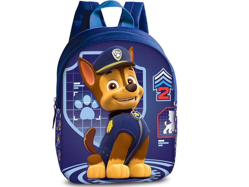 PAW Patrol 3D Chase - Toddler backpack - 29 cm - blue