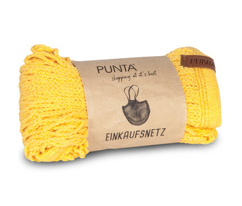 Punta Shopping Bag Yellow