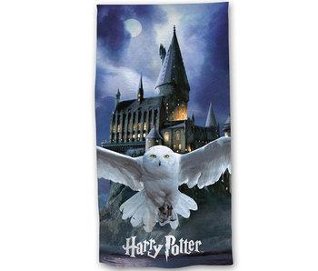 Harry Potter Hedwig Strandtuch 70 x 140 cm