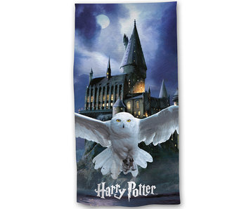 Harry Potter Serviette de plage Hedwig 70 x 140 cm