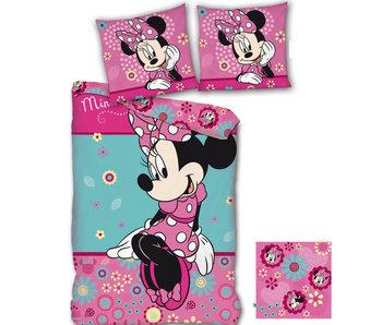Disney Minnie Mouse Duvet cover flowers 140x200cm + 65x65cm