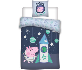 Peppa Pig Baby duvet cover rocket 100 x 135 cm