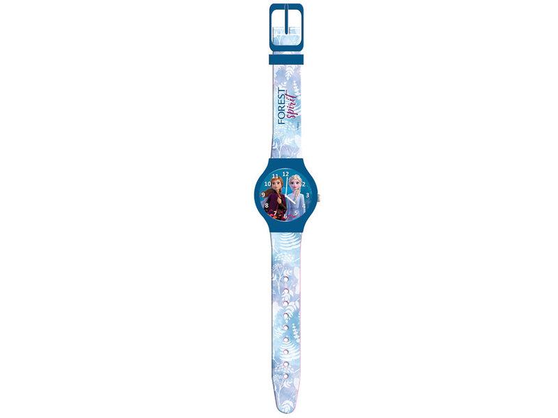Disney Frozen 2 children's watch - blister pack - 22 cm - Blue