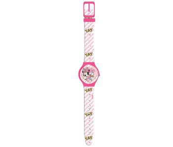 Disney Minnie Mouse Horloge Yay Blisterverpakking