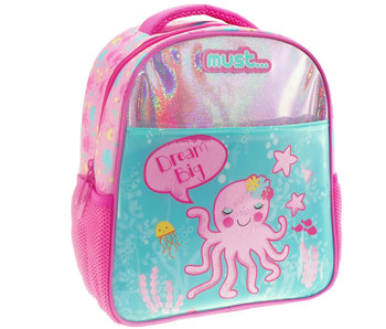 Must Sac à dos Octopus + étui 31 cm