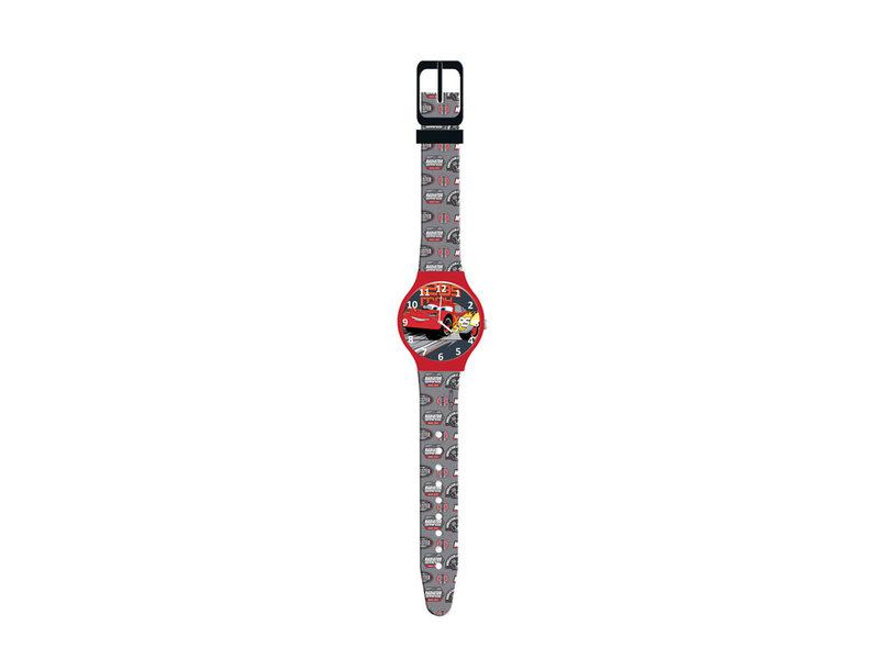 Disney Cars Horloge Racing - Kinderhorloge in blisterverpakking - Rood
