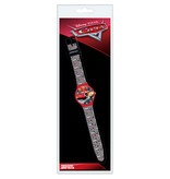 Disney Cars Watch Racing - Children's watch in blister pack - Red