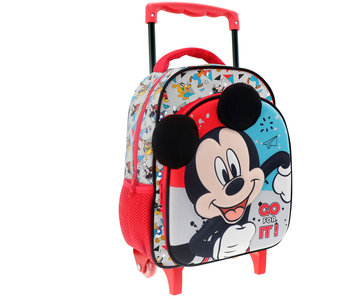 Disney Mickey Mouse Go for it! Chariot à dos 31 cm