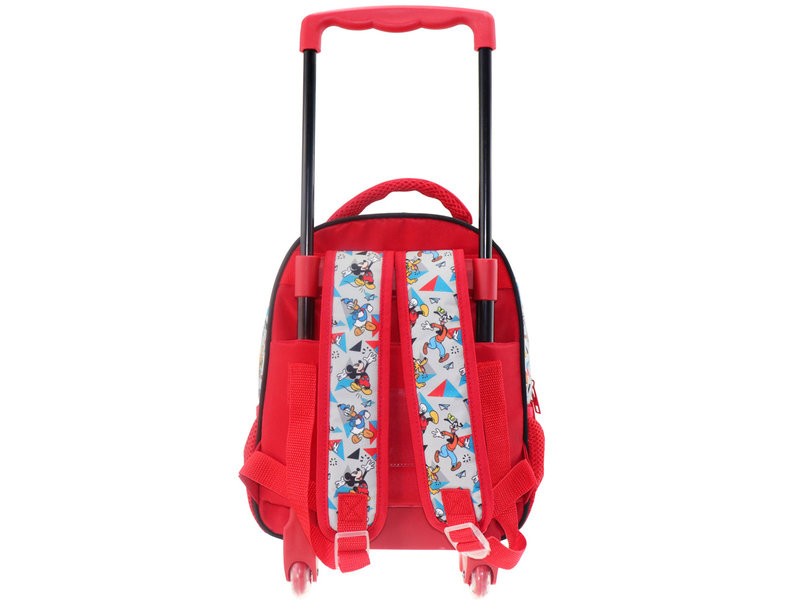 Disney Mickey Mouse Go for it! Rugzak Trolley - 31 x 27 x 10 cm - Multi