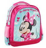 Disney Minnie Mouse No stopping this girl rugzak - 31 x 27 x 10 cm - roze