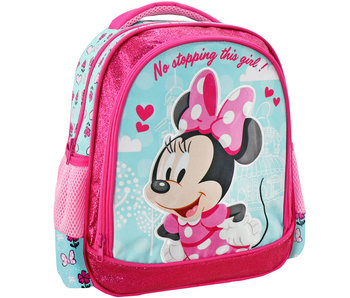 Disney Minnie Mouse No stopping this girl backpack 31 x 27 x 10 cm
