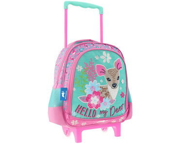 Animal Planet Deer Backpack Trolley 31 cm