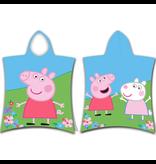 Peppa Pig en Suzy Sheep badponcho - 50 x 115 cm - Multi