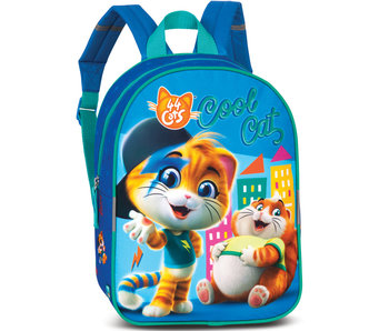 44 Cats Toddler backpack Cool Cat 30 cm