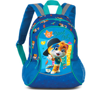44 Cats Backpack Cool Cat 35 cm