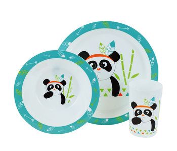 Panda Set petit déjeuner 3 pièces