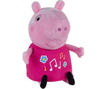Peppa Pig Kuschelig, leuchtend und mit Musik 25 cm