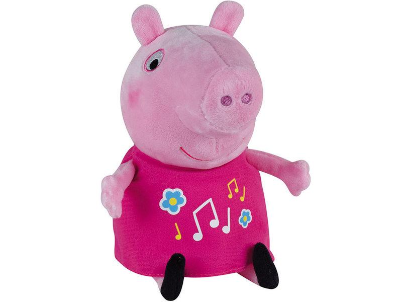 Peppa Pig Knuffel - lichtgevend en met muziek - 25 cm