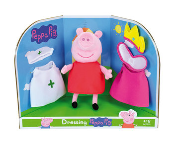 Peppa Pig Anzieh Kuscheltier 20 cm