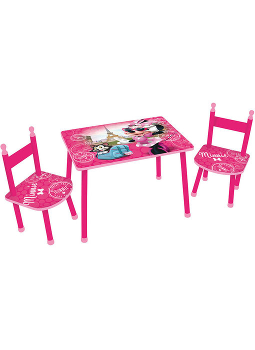 Disney Minnie Mouse Table and chairs / Sitting area Paris