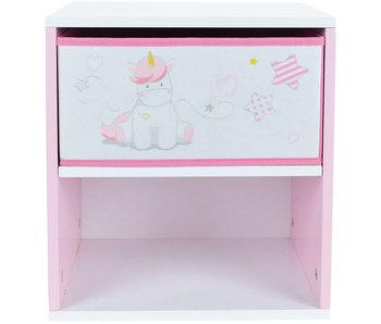 Unicorn Table de chevet 36 x 33 x 30 cm - MDF