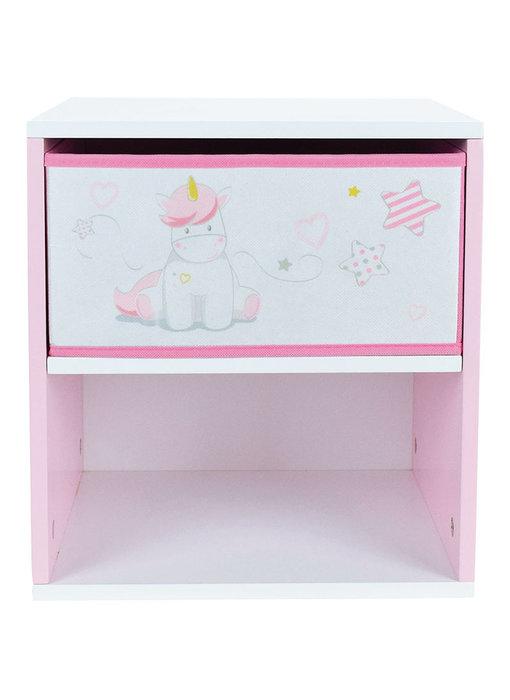 Unicorn Nachttisch 36 x 33 x 30 cm - MDF