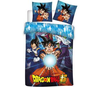 Dragon Ball Z Housse de couette polyester Super 140x200cm + 63x63cm