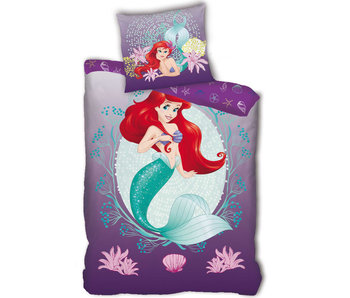 Disney Kleine Zeemeermin Unterwasser-Bettbezug aus Polyester 140 x 200 cm