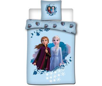Disney Frozen Dekbedovertrek 140x200 + 65x65cm Flanel